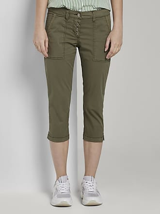 Tom Tailor Geknöpfte Tapered Relaxed Hose