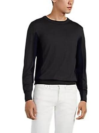 Luciano Barbera Mens Colorblocked Wool-Blend Sweater Size XL