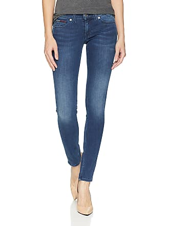 e945053c Tommy Hilfiger Womens Skinny Sophie Low Rise Jeans, Niceville Mid Stretch,  28W x 30L