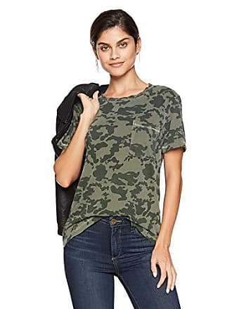 Lucky Brand Womens Pocket TEE, camo Olive Multi, L