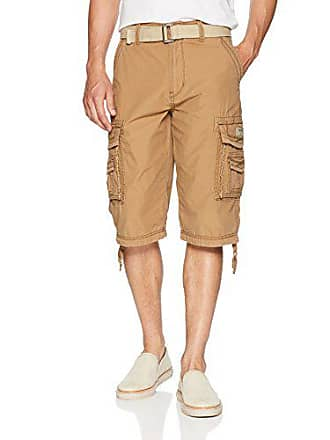 a5f3673f65 Unionbay Unionbay Mens Cordova Belted Cargo Short Messenger - 48 - Field