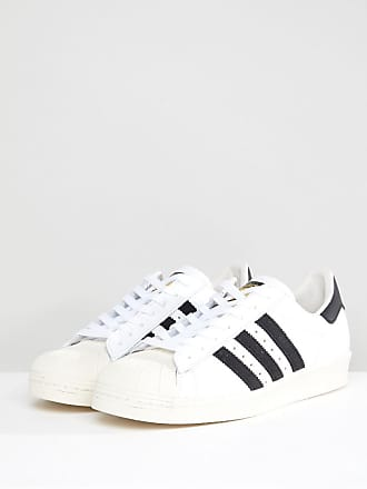 the best attitude 0f113 4495d adidas Originals Superstar 80s sneakers in white g61070 - White