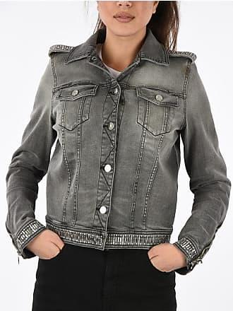 Just Cavalli Studded Jeans Jacket size 42