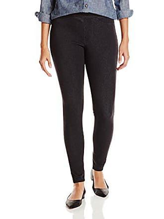 076a25a3471249 Hue Womens Curvy Fit Jeans Leggings, Graphite Wash, Medium