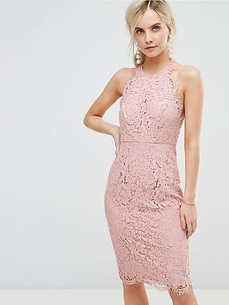 b804844fd21e Asos Petite Scallop Pinny Lace Pencil Midi Dress