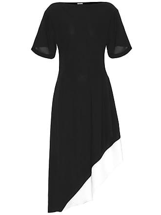 Loewe Asymmetric crêpe dress