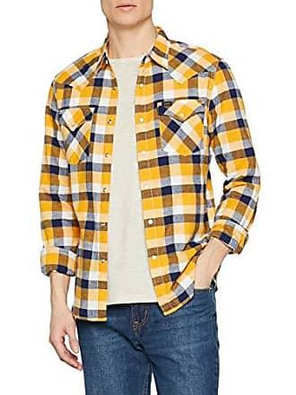 Lee Cropped Western, Camicia Donna, Blu (Sky Blue), 38 (X