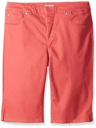 Tribal Womens Pull On Bermuda Soft Touch Colors, RoseGlow, 8
