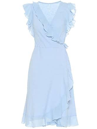 Velvet Fey cotton-jersey midi dress