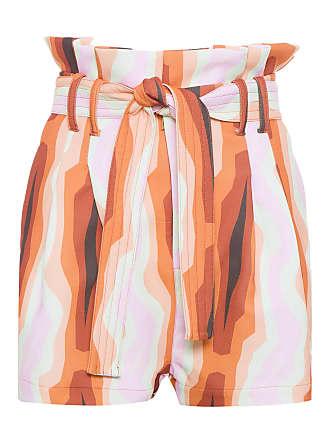 TIG SHORT FEMININO CLOCHARD - LARANJA
