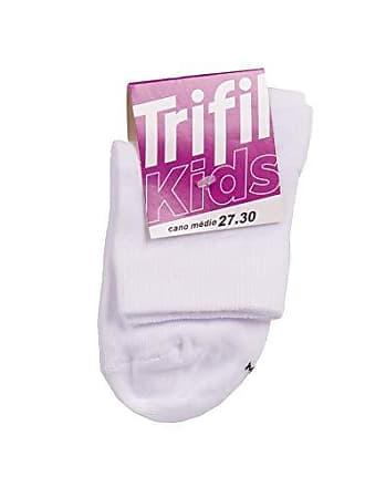 Trifil Meia Trifil Kids Cano Médio Branco 27-30