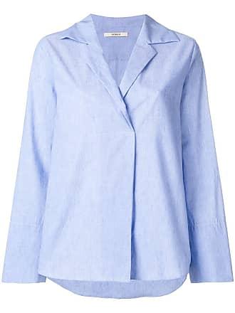 Odeeh Camisa mangas longas - Azul