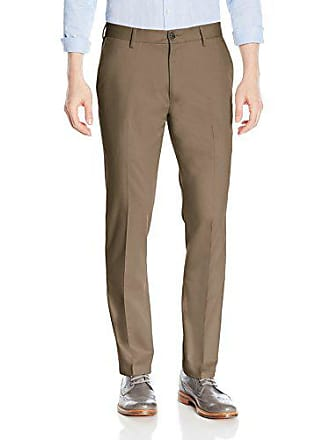 Goodthreads Mens Slim-Fit Wrinkle-Free Dress Chino Pant, Taupe, 35W x 30L