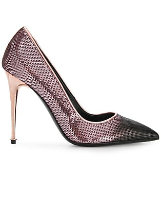 49d6f5973c3 Tom Ford sequinned contrast toe pumps - Pink