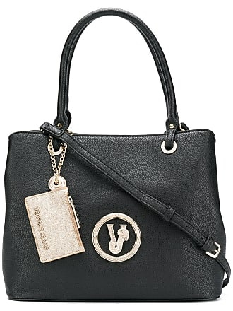 Versace Jeans Couture Tiger logo tote bag - Black
