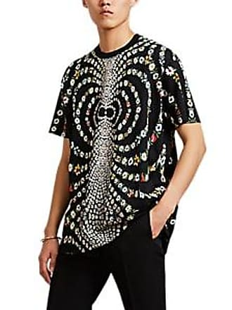 4b60c3b41663 Givenchy Mens Kaleidoscope-Daisy Jersey T-Shirt - Black Size XXL