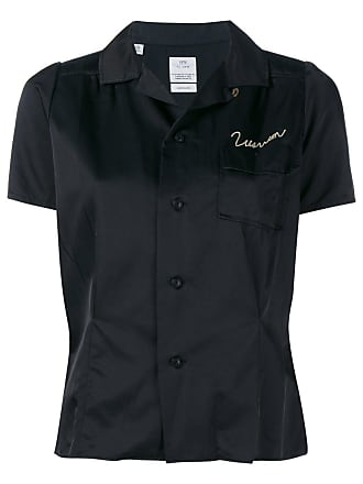 Visvim Camiseta com bordado - Preto