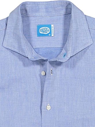 Panareha SANTORINI linen shirt blue