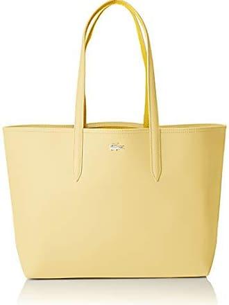 79569a57ff Lacoste femme Nf2142aa Sac porte epaule Beige (Pale Banana Yellow)