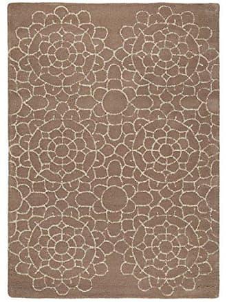 Benuta Wollteppich Matrix Crochet Taupe 160x230 Cm/Naturfaserteppich Für  Wohnzimmer Und Schlafzimmer