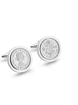 Oliver Twist Designs 1969 Silver Edition Lucky Sixpence Cufflinks