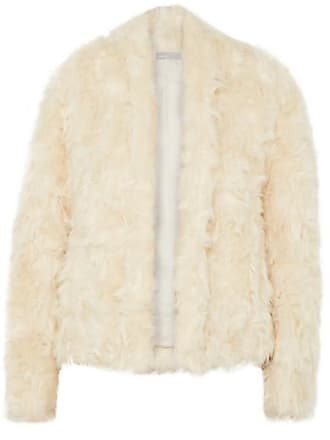 Vince Faux Shearling Jacket - Cream