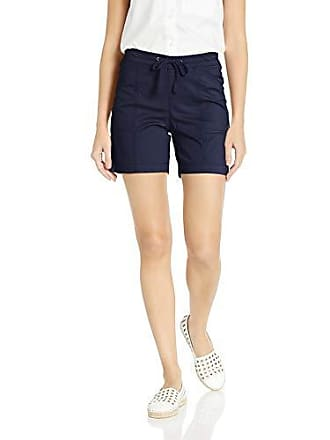 Lee Womens Flex-to-Go Relaxed Fit Pull-On Drawstring Short, Rainstorm, 8