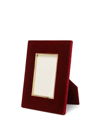 Aerin Valentina 4x6 Velvet Photo Frame - Burgundy