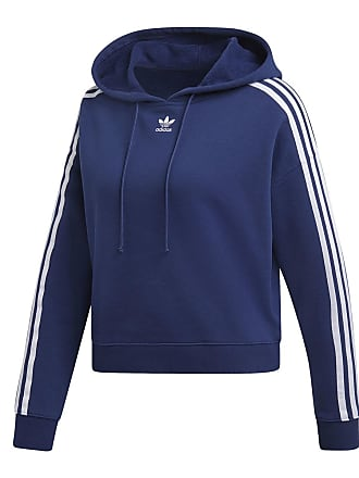 new styles 4c052 f2e2b adidas FELPA 3 STRIPES CROPPED DONNA