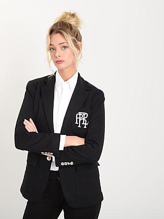 9e0e3a4eebd Polo Ralph Lauren Veste ajustée en maille Noir Polo Ralph Lauren