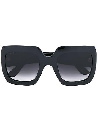 Gucci oversize square frame sunglasses - Black