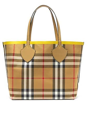 8a0c8400504 Burberry The Giant Reversible Cotton Tote - Womens - Yellow Multi