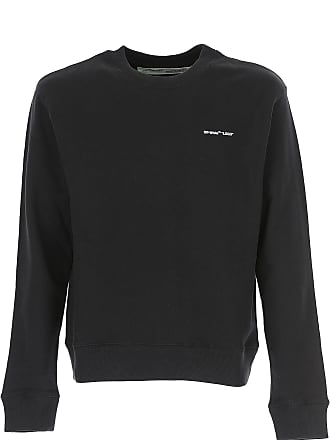 Off-white Sweater for Men Jumper On Sale, Black, Cotton, 2017, M S