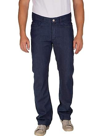 Colombo Calça Jeans Masculina Azul Escuro Lisa 49977 Colombo
