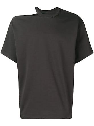 Zilver Camiseta com recorte no ombro - Cinza
