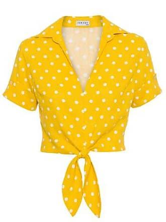 0e6ac7517 Iorane Blusa Gola Poá Iorane - Amarelo