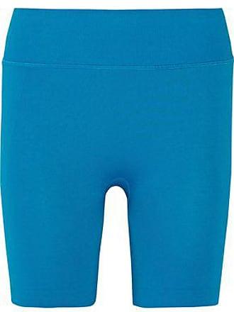 Yummie Tummie Yummie By Heather Thomson Woman Stretch Shorts Azure Size M