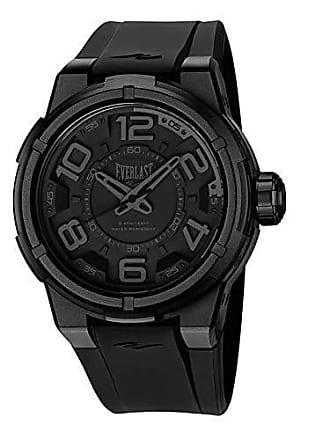 Everlast Relógio Everlast Masculino Ref: E683 Big Case Esportivo All Black