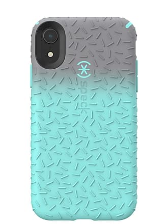 SPECK CandyShell Fit Textured Gunmetal Ombre/Zeal Teal iPhone XR Case