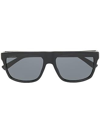 a860726b6d1 Gucci rectangular frame sunglasses - Black
