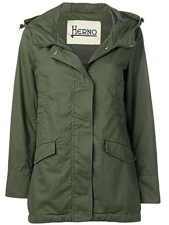 Herno hooded jacket - Green