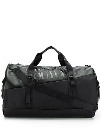 Versace Jeans Couture Mala com estampa de logo - Preto