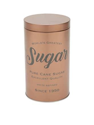 Urban Lata De Metal Expresso Round Pure Sugar Cobre 10,8X18,8Cm Urban