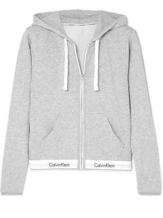a155b1ef90 Calvin Klein Underwear Sweat À Capuche En Jersey De Coton Mélangé - Gris