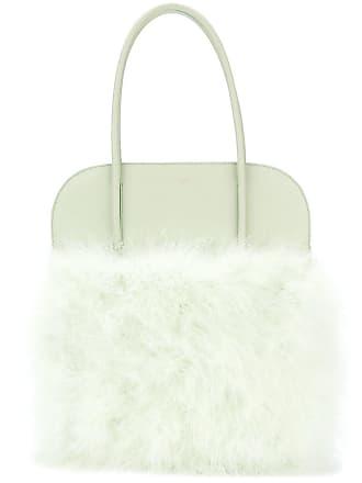 Nina Ricci panelled fluffy tote - Verde