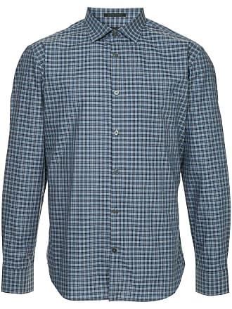 Durban Camisa xadrez - Azul