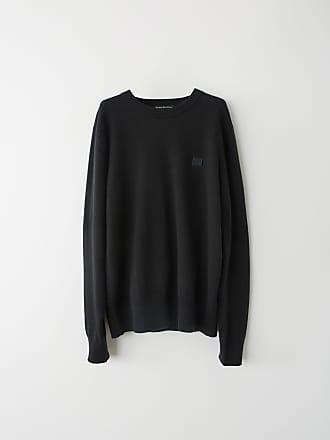 Acne Studios FA-UX-KNIT000008 Black Crewneck sweater