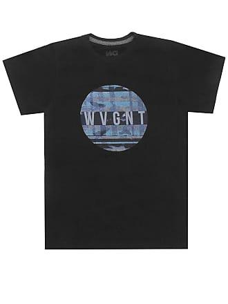 Wave Giant Camiseta WG Menino Escrita Preta