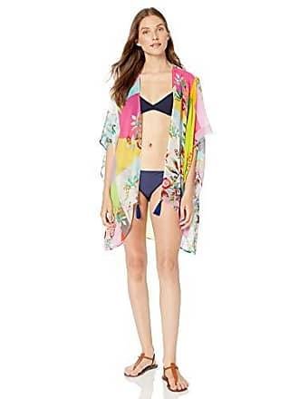 b0495eda4 Johnny Was Womens Sheer Chiffon Kimono Coverup, COACHELLINA, M