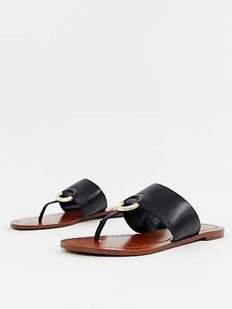 b10fb8694304 Aldo Ocericia leather ring post sandals in black